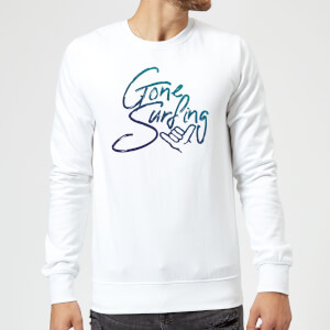 Gone Surfing Sweatshirt - White