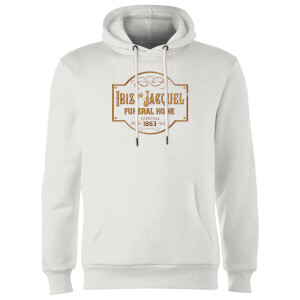 American Gods Ibis And Jacquel Hoodie - White