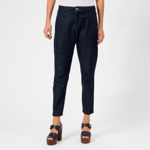 Vivienne Westwood Anglomania Women's Boy Trousers - Blue Denim