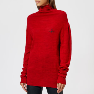 Vivienne Westwood Anglomania Women's Polo Jumper - Red