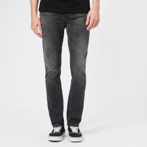 Nudie Jeans Men's Lean Dean Tapered Jeans - Mono Grey