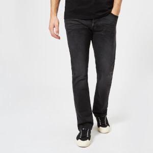 Nudie Jeans Men's Dude Dan Straight Jeans - Dusty Black
