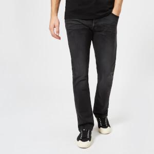Nudie Jeans Men's Dude Dan Straight Jeans - Dusty Black