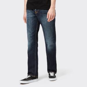 Nudie Jeans Men's Sleepy Sixteen Straight Jeans - Authentic Dark