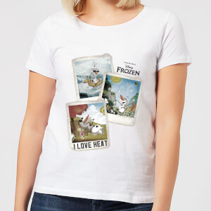 Frozen Olaf Polaroid Women's T-Shirt - White