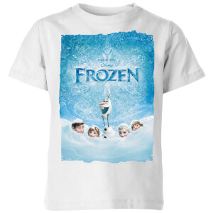 Frozen Snow Poster Kids' T-Shirt - White