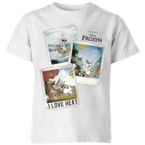 Frozen Olaf Polaroid Kids' T-Shirt - White