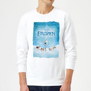 Disney Frozen Snow Poster Sweatshirt - White