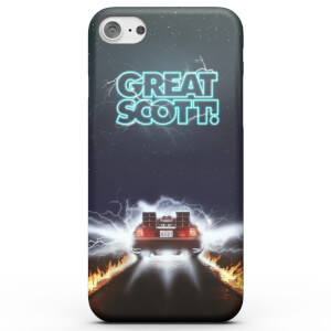 Back To The Future Great Scott Smartphone Hülle