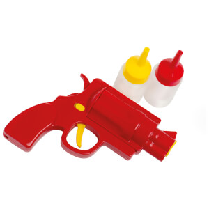 Eddingtons Tomato Sauce & Mustard Gun with 2 Bottles