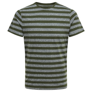 Only & Sons Men's Rock Stripe T-Shirt - Forest Night