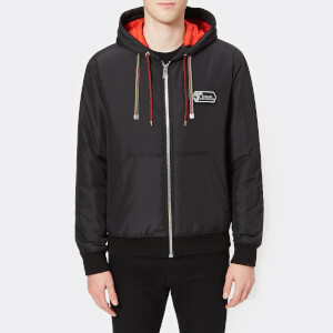 Versace Collection Men's Hooded Blouson - Nero