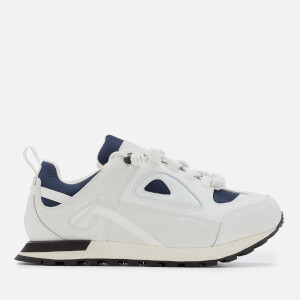 Maison Margiela Men's Security Runner Trainers - White/Klein Blue