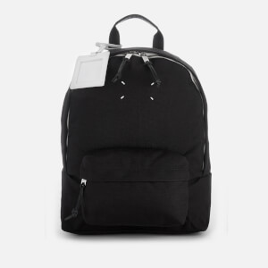 Maison Margiela Men's Canvas Backpack - Black