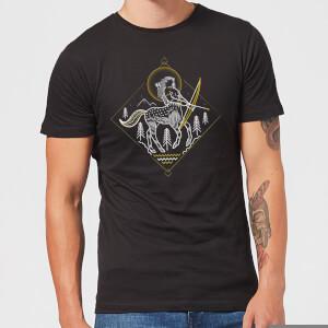 Harry Potter Centaur Line Art Men's T-Shirt - Black