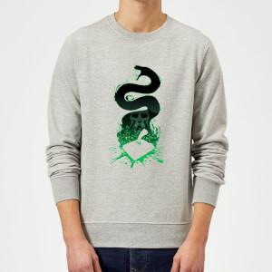 Harry Potter Nagini Silhouette Pullover - Grau