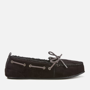 Superdry Men's Clinton Moccasin Slippers - Black