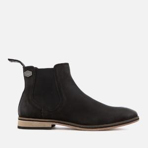 Superdry Men's Meteora Chelsea Boots - Black Nubuck