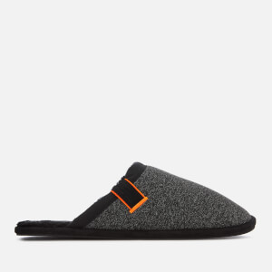 Superdry Men's Classic Mule Slippers - Black Mega Marl