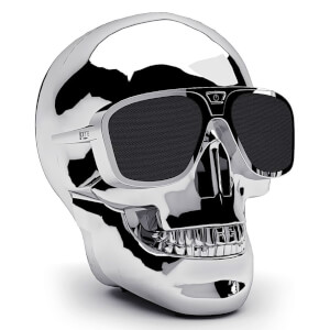 Jarre AeroSkull XS+ Bluetooth Portable Speaker - Chroom Zilver