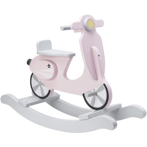Kids Concept Rocking Scooter - Pink/White