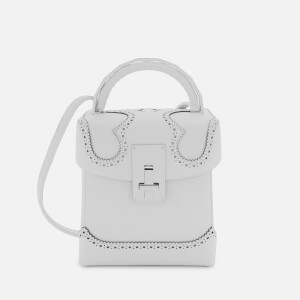 The Volon Women's Great L. Box Alice Bag - White