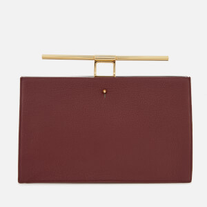 The Volon Women's Chateau Clutch Bag - Wine