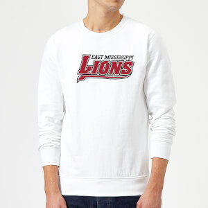 East Mississippi Community College Lions Script Logo Sweatshirt - White