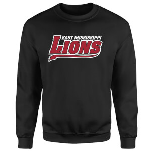 East Mississippi Community College Lions Script Logo Sweatshirt - Black