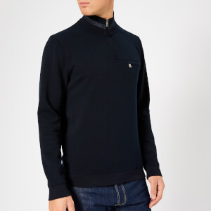 Ted Baker Men's Leevit Half Zip Sweatshirt - Navy