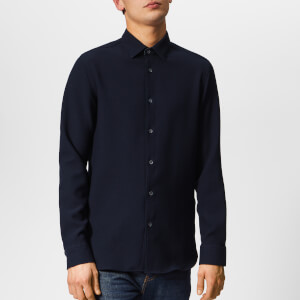 Ted Baker Men's Piccadi Long Sleeve Shirt - Navy