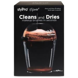 StylPro Expert Make Up Brush Cleaner and Dryer -puhdistin ja kuivuri meikkisiveltimille