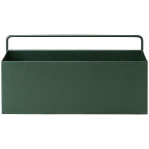 Ferm Living Wall Box - Rectangle - Dark Green