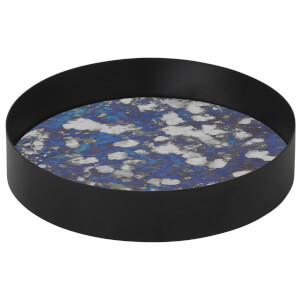 Ferm Living Coupled Round Tray - Small - Blue