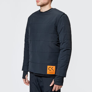 Calvin Klein Performance Men's Padded Long Sleeve Top - CK Black