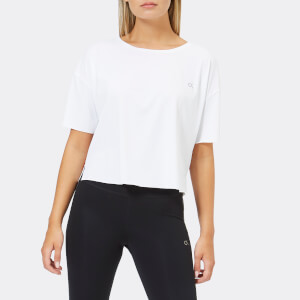 Calvin Klein Performance Womens's Short Sleeve T-Shirt - Bright White