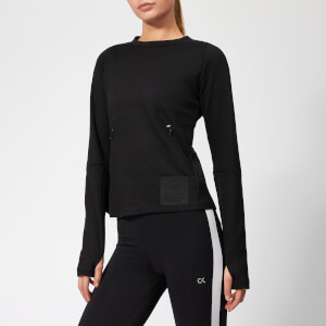 Calvin Klein Performance Women's Pullover Sweatshirt - CK Black
