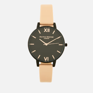 Olivia Burton Women's After Dark Watch - Nude Peach/IP Black