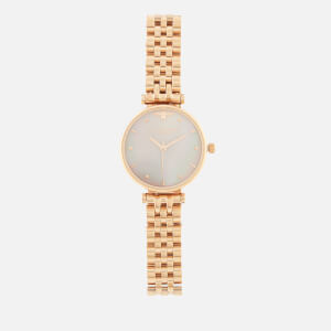 Olivia Burton Women's Queen Bee Bracelet Watch - Pink Mother-of-Pearl/Rose Gold