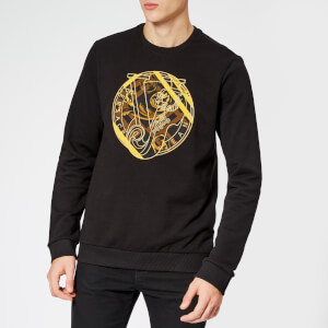 Versace Jeans Men s Circle Logo Sweatshirt - Black 9dda96117c951