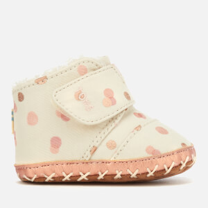 TOMS Babies Cuna Party Dots Boots - Pale Blush