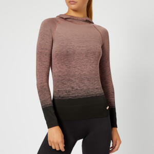 Pepper & Mayne Women's Goddess Compression Hoody - Rose/Black