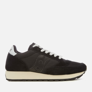Saucony Women's Jazz Original Vintage Trainers - Black/Black