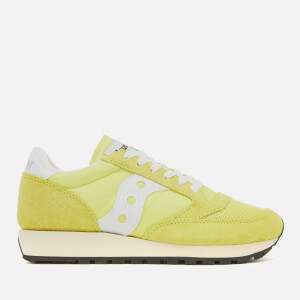 Saucony Women's Jazz Original Vintage Trainers - Yellow/White