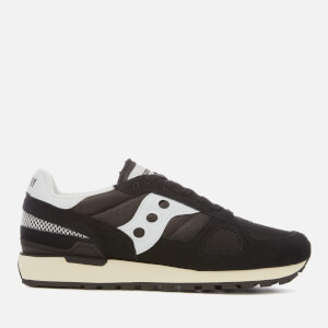 Saucony Men's Shadow Original Vintage Trainers - Black/White