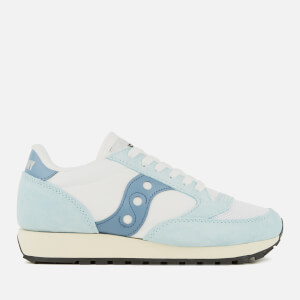Saucony Women's Jazz Original Vintage Trainers - White/Blue