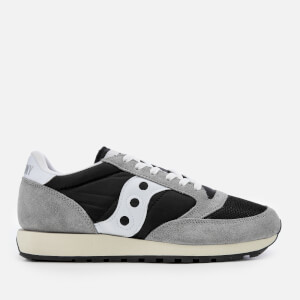 Saucony Men's Jazz Original Vintage Trainers - Grey/Black/White