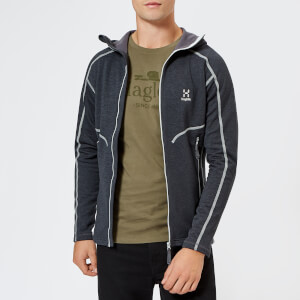 Haglofs Men's Heron Hooded Fleece Jacket - Slate