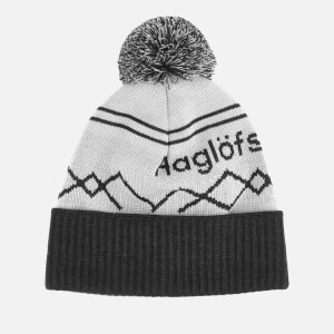 Haglofs Men's Stipe Beanie - Stone Grey