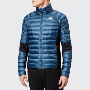The North Face Men's Crimptastic Hybrid Jacket - Shady Blue/Vintage White